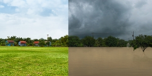 Greener pastures ahead. Which scenario do you prefer? (Photos: UNDP in Costa Rica)